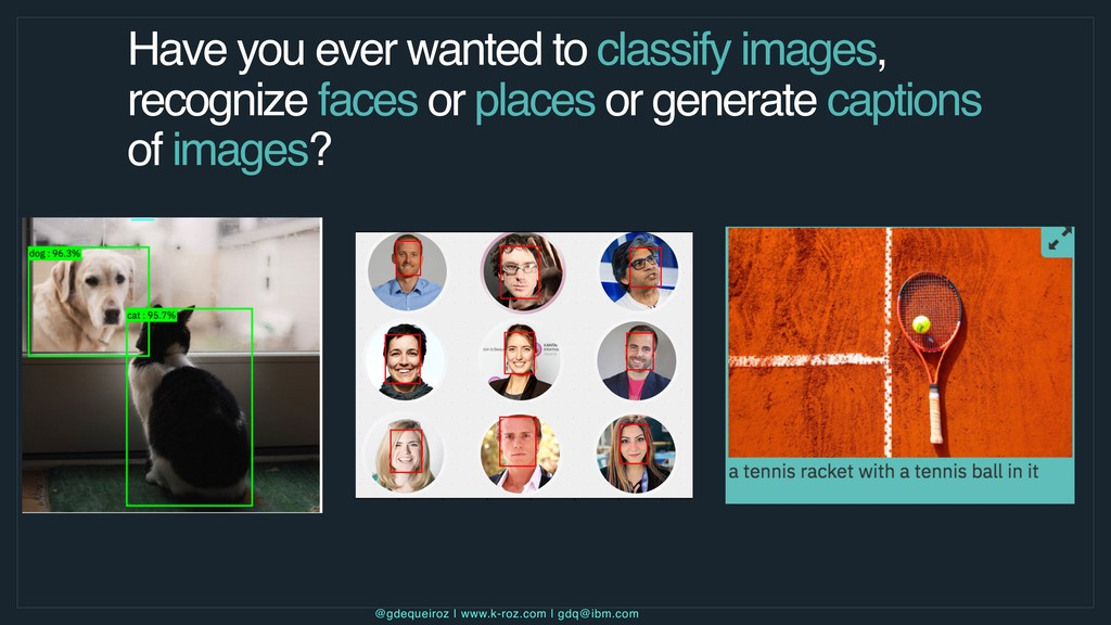 Have you ever wanted to classify images, recogn...