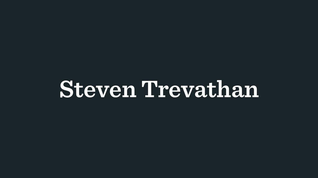 Steven Trevathan