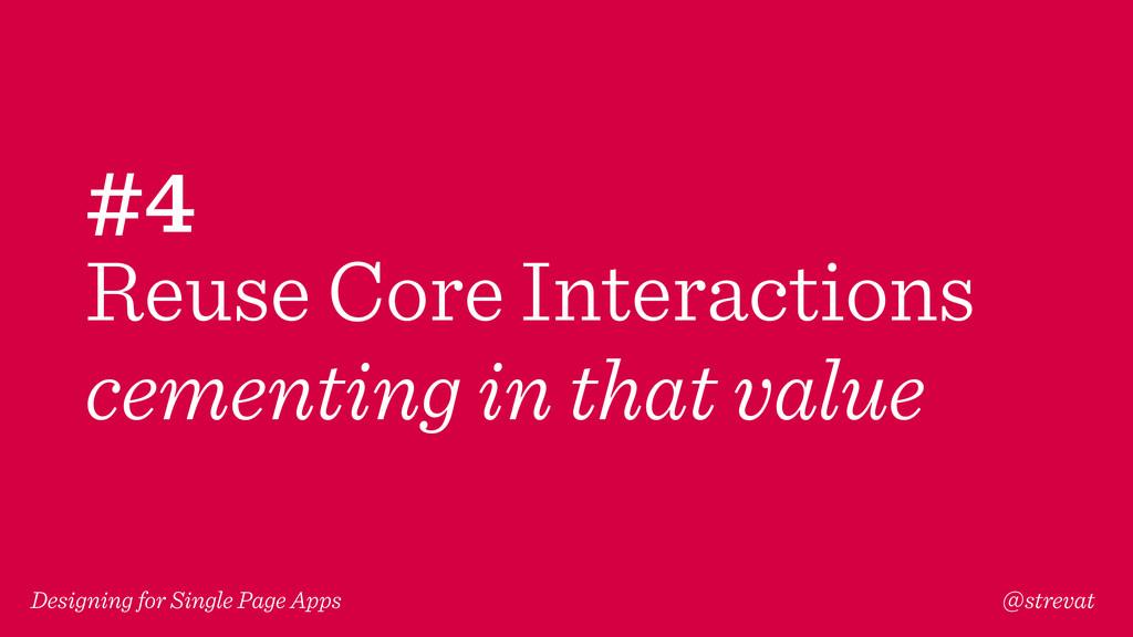 Designing for Single Page Apps @strevat #4 Reus...