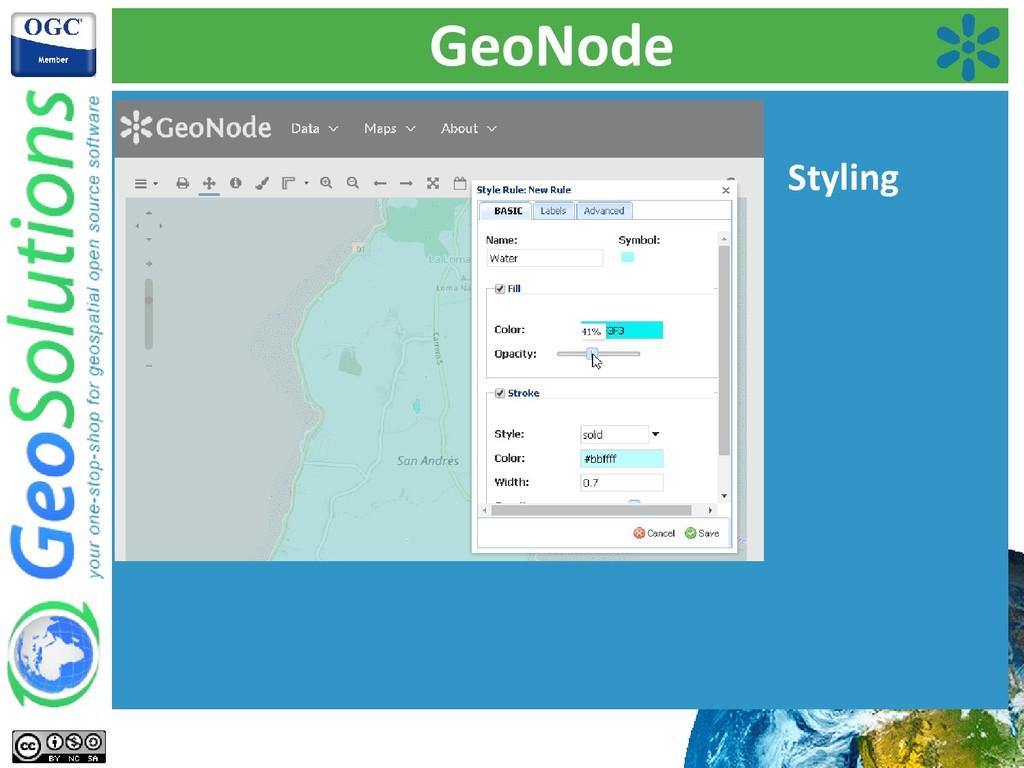 GeoNode Styling