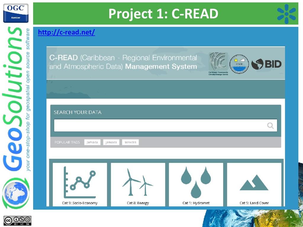 Project 1: C-READ http://c-read.net/