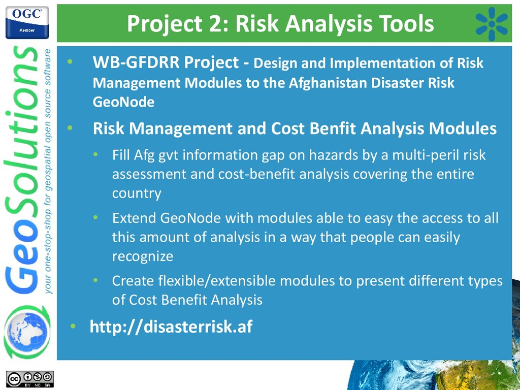 Project 2: Risk Analysis Tools • WB-GFDRR Proje...