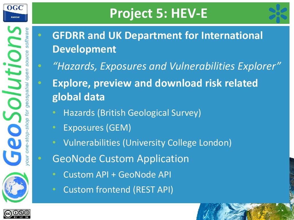 Project 5: HEV-E • GFDRR and UK Department for ...