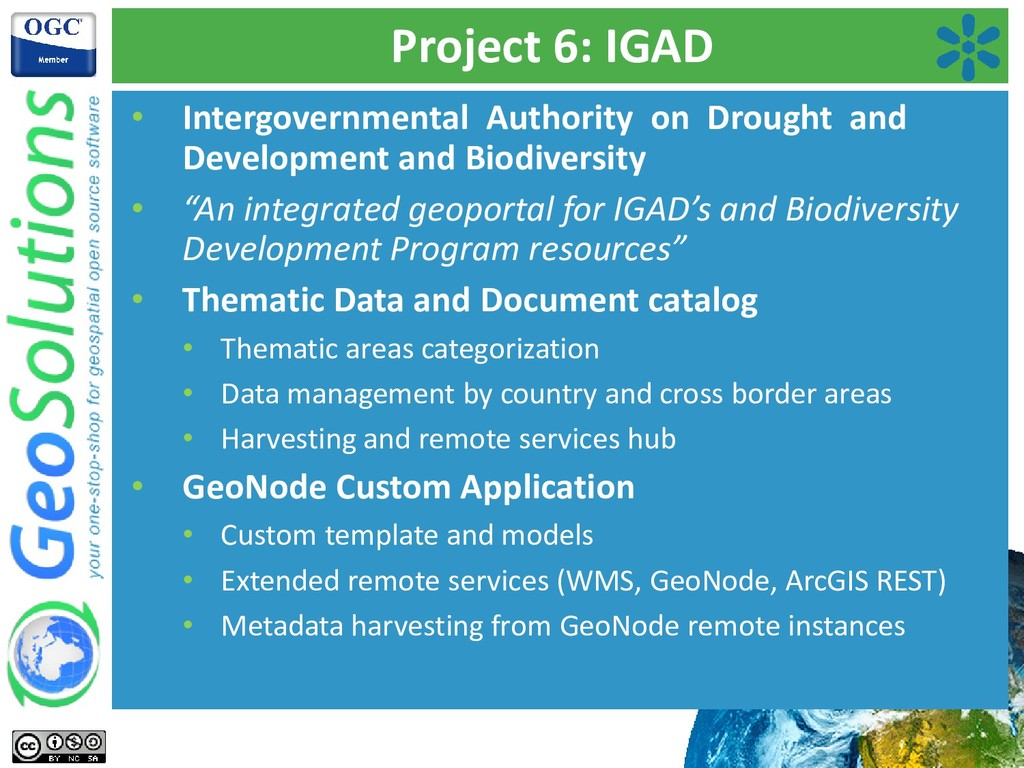 Project 6: IGAD • Intergovernmental Authority o...