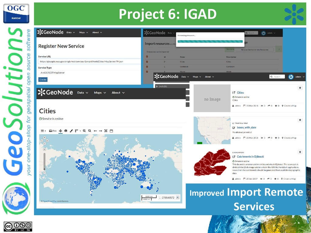 Project 6: IGAD Improved Import Remote Services