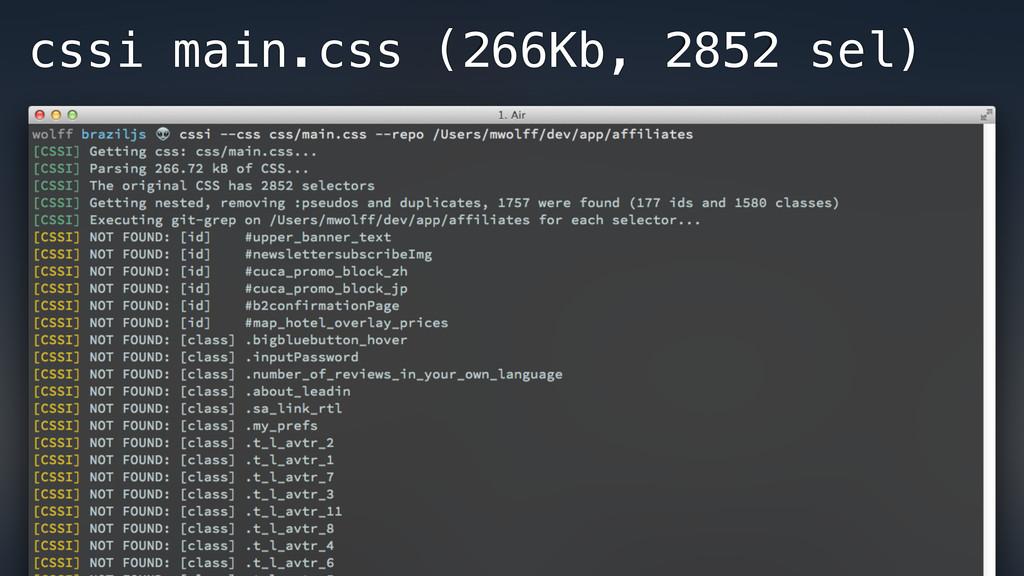 cssi main.css (266Kb, 2852 sel)
