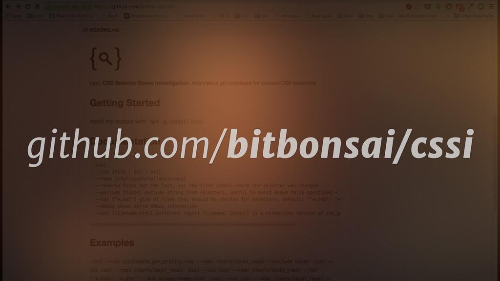 github.com/bitbonsai/cssi