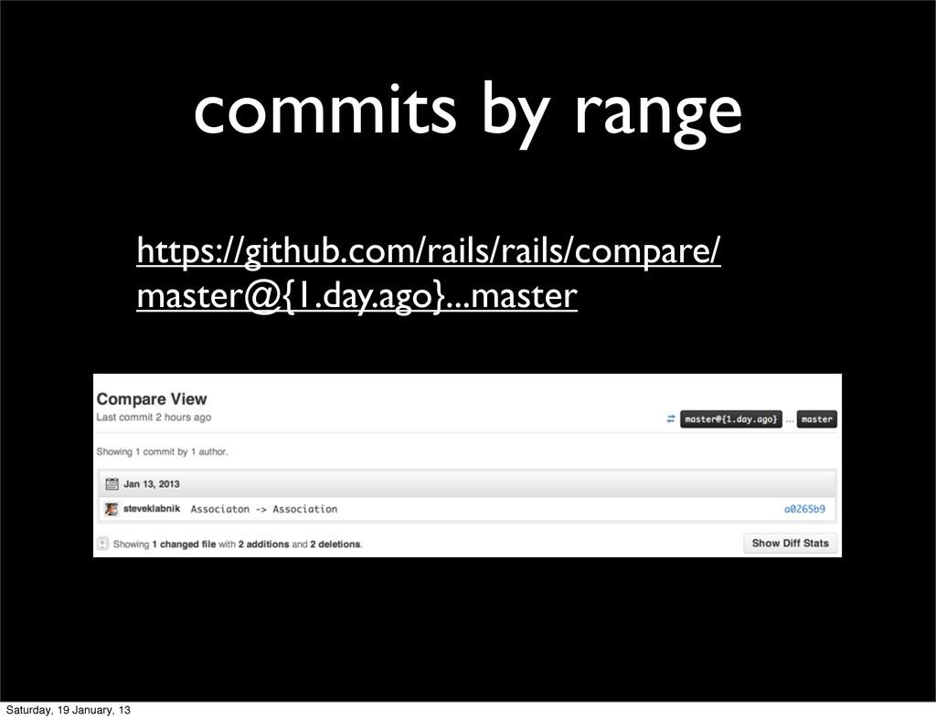 commits by range https://github.com/rails/rails...