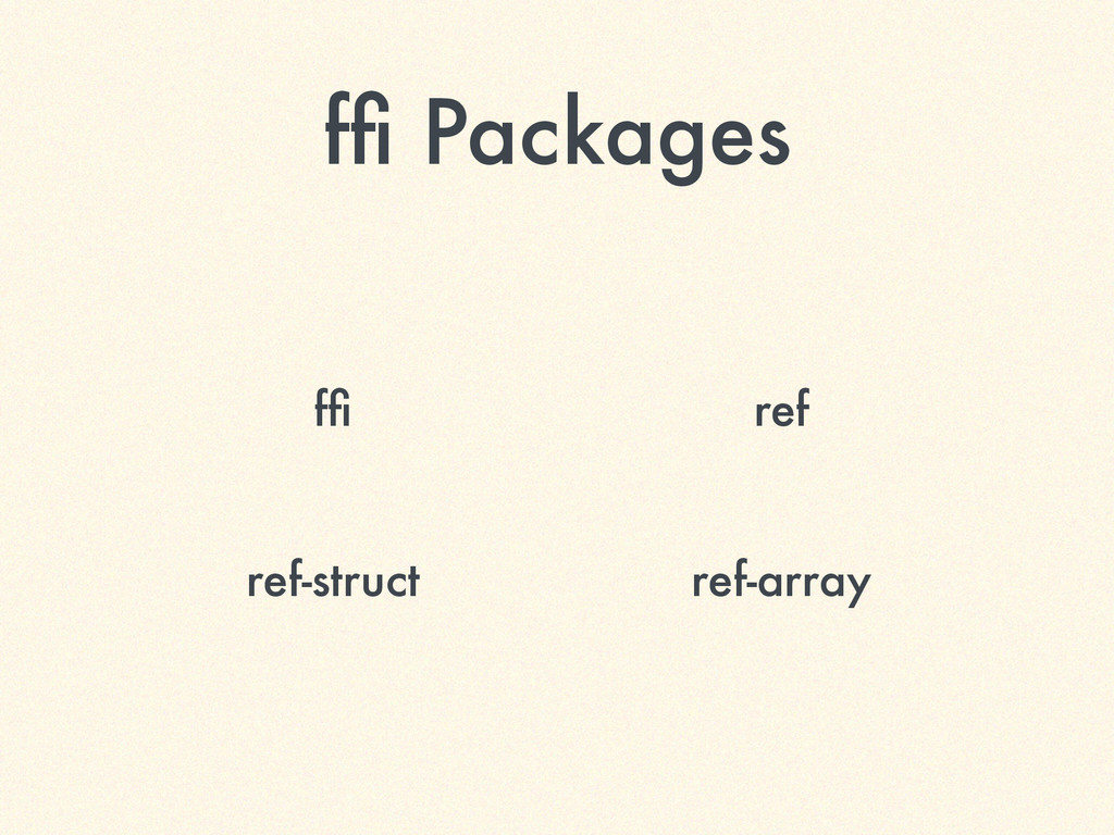 ffi Packages ffi ref ref-struct ref-array