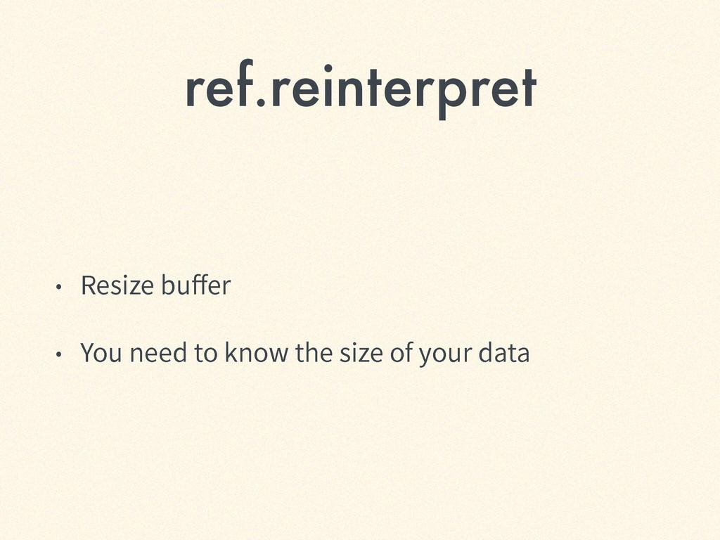 ref.reinterpret ˖ 3FTJ[FCVFS ˖ :PVOFFEUPL...