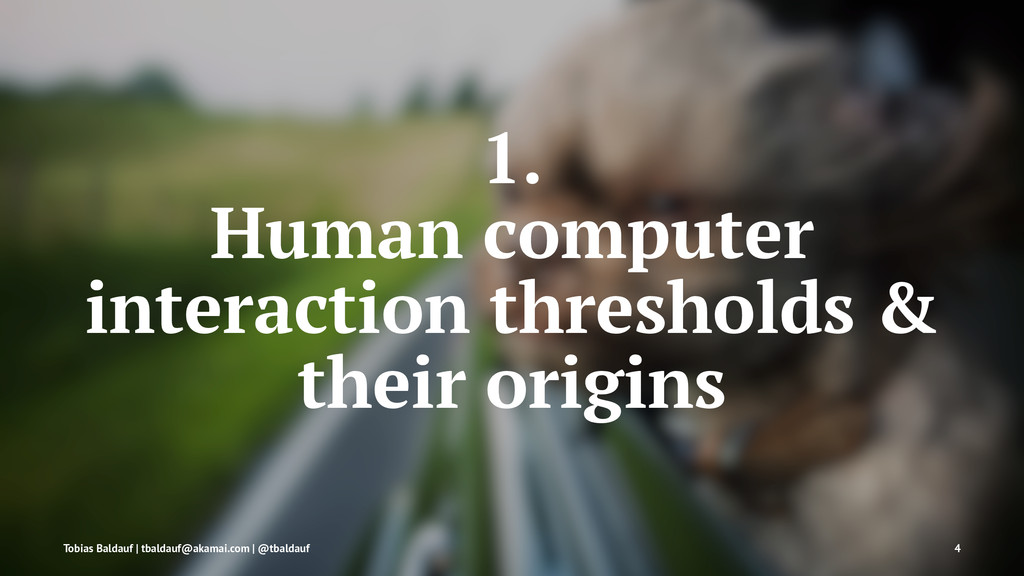1. Human computer interaction thresholds & thei...