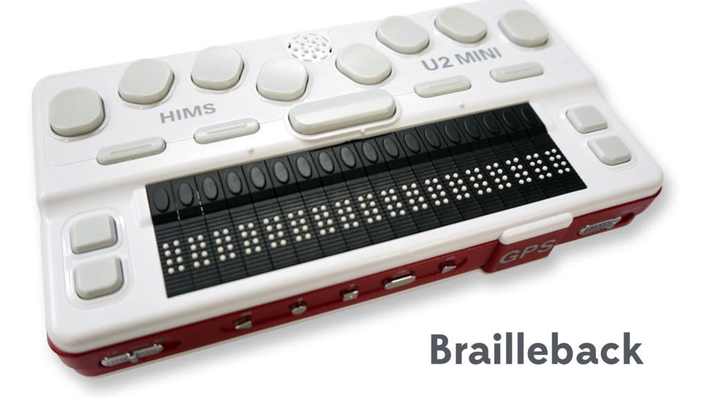 Brailleback