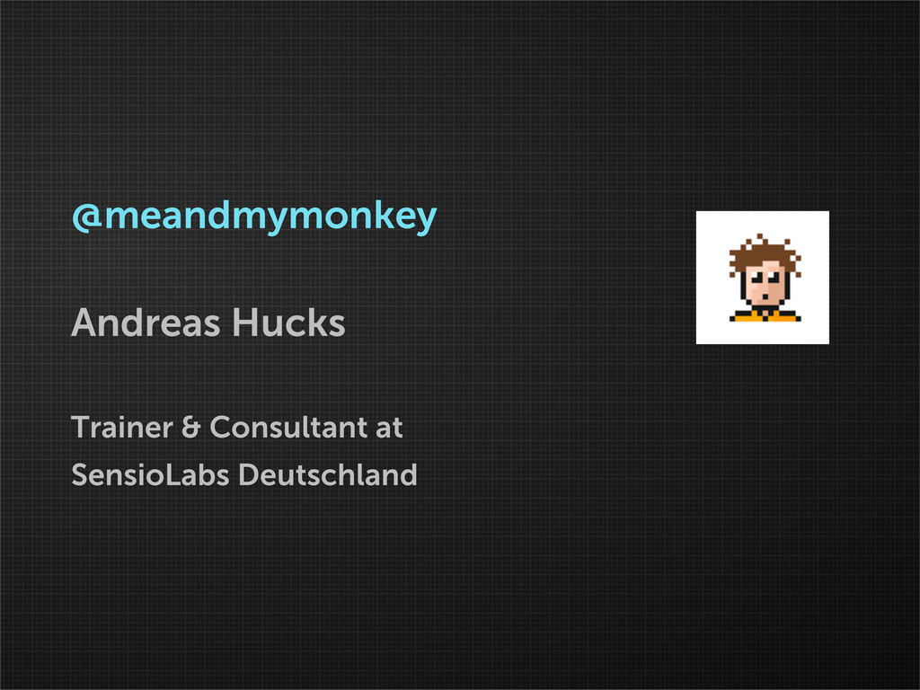 @meandmymonkey Andreas Hucks Trainer & Consulta...