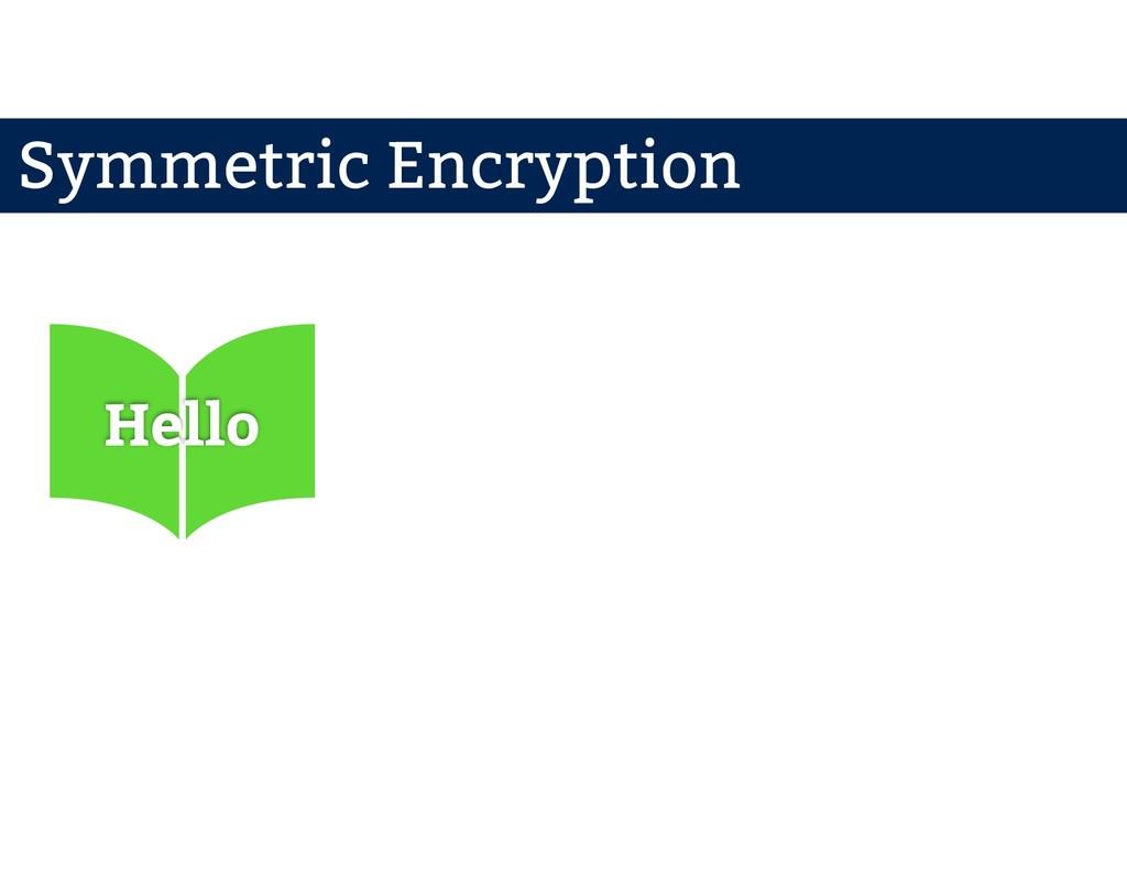 Hello Symmetric Encryption