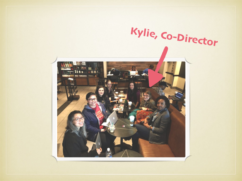 Kylie, Co-Director