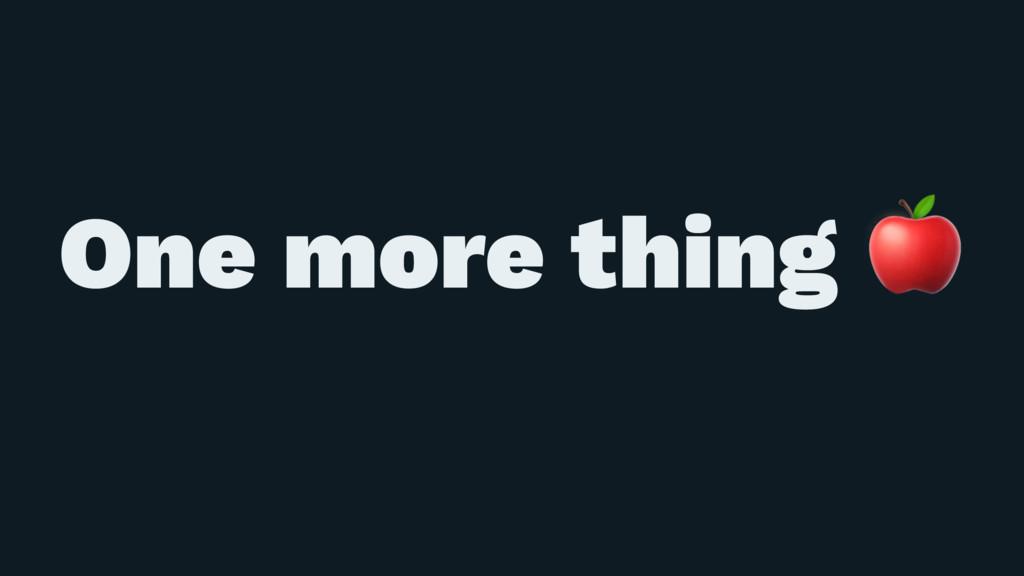 ɹ ɹ One more thing !