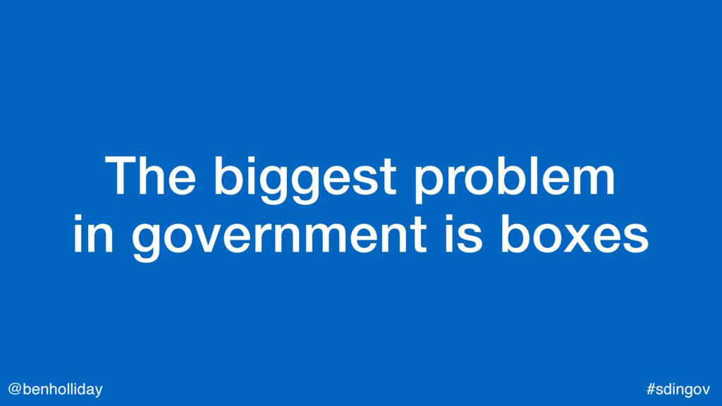 @benholliday #sdingov The biggest problem  in ...