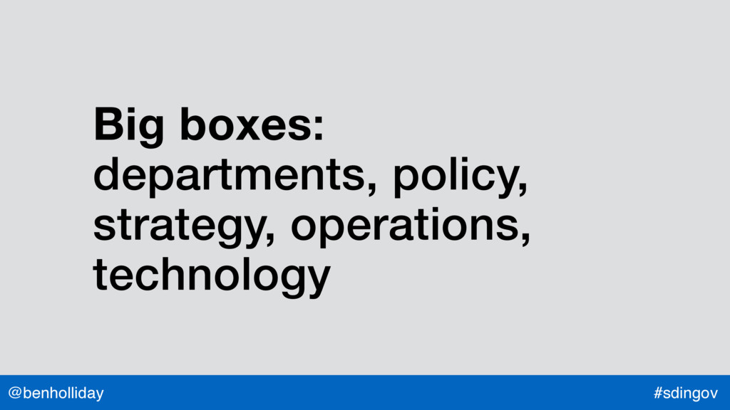 @benholliday #sdingov Big boxes:  departments,...