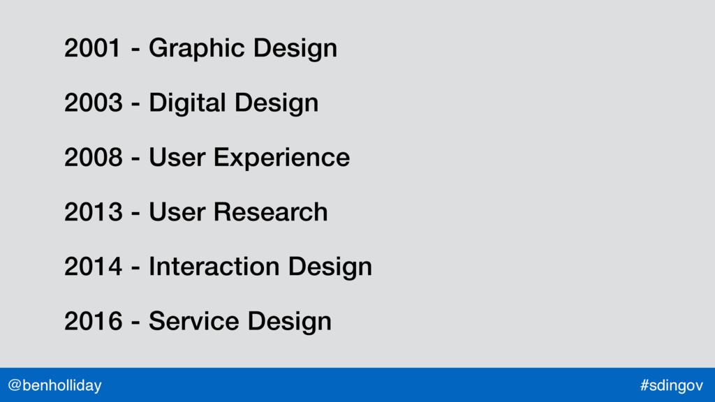 @benholliday #sdingov 2001 - Graphic Design 200...