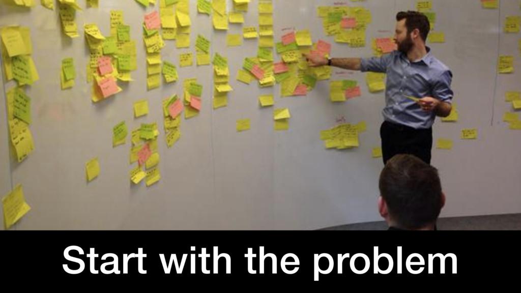@benholliday #sdingov Start with the problem