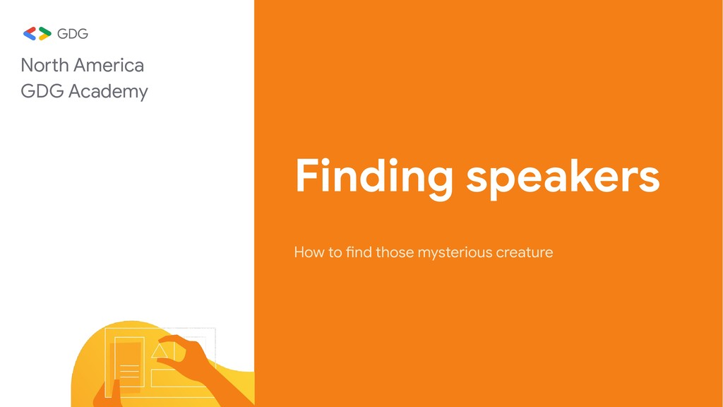 Finding speakers How to find those mysterious c...
