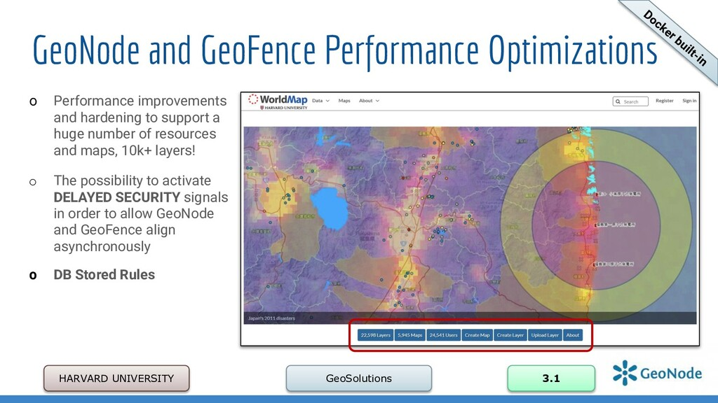 GeoNode and GeoFence Performance Optimizations ...