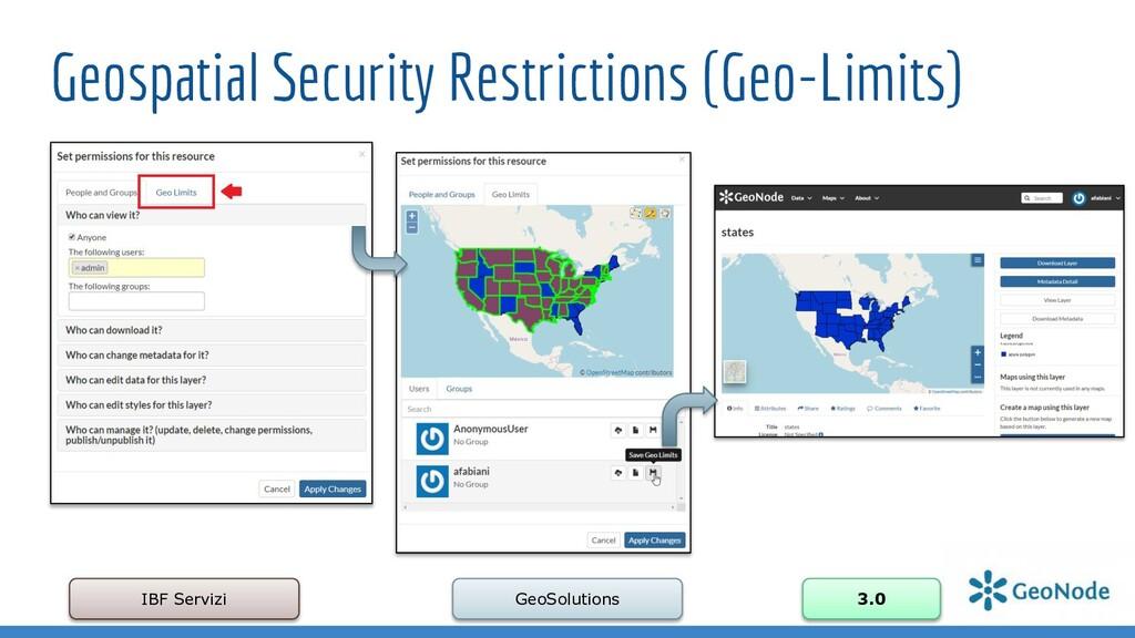 Geospatial Security Restrictions (Geo-Limits) I...