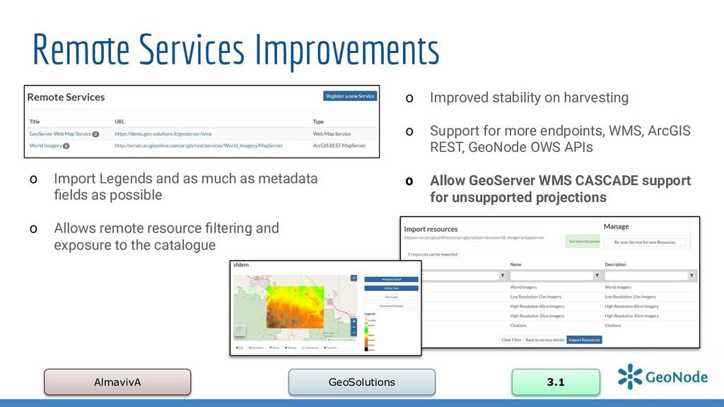 Remote Services Improvements AlmavivA GeoSoluti...