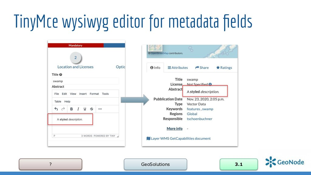 ? GeoSolutions 3.1 TinyMce wysiwyg editor for m...