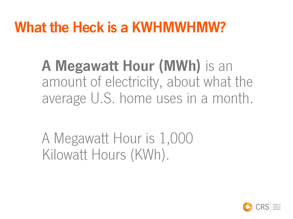 A Megawatt Hour (MWh) is an amount of electrici...