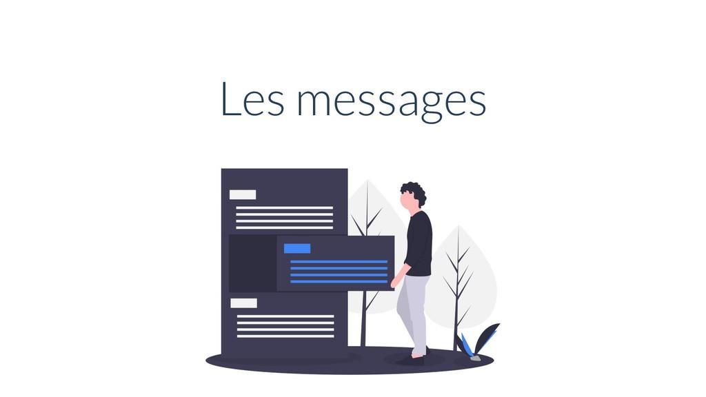 Les messages