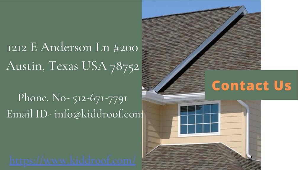 Contact Us 1212 E Anderson Ln #200 Austin, Texa...