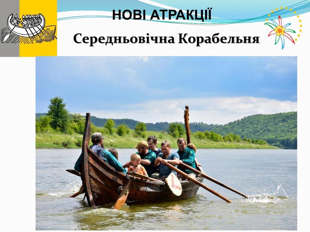 Середньовічна Корабельня НОВІ АТРАКЦІЇ