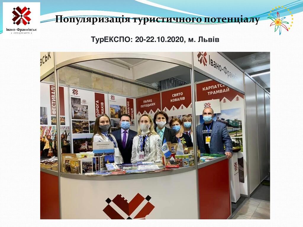 Популяризація туристичного потенціалу ТурЕКСПО:...