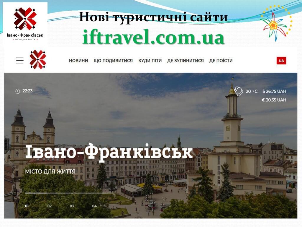 Нові туристичні сайти iftravel.com.ua