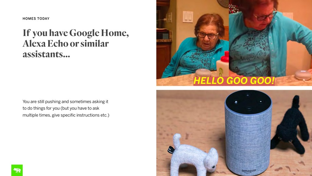 HOMES TODAY If you have Google Home, Alexa Echo...