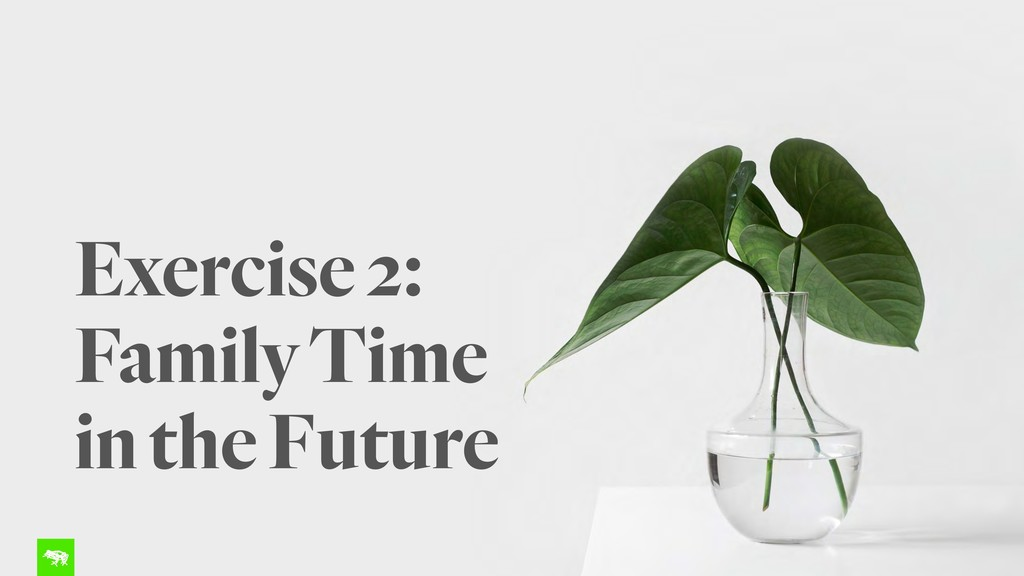 Exercise 2: Family Time in the Future