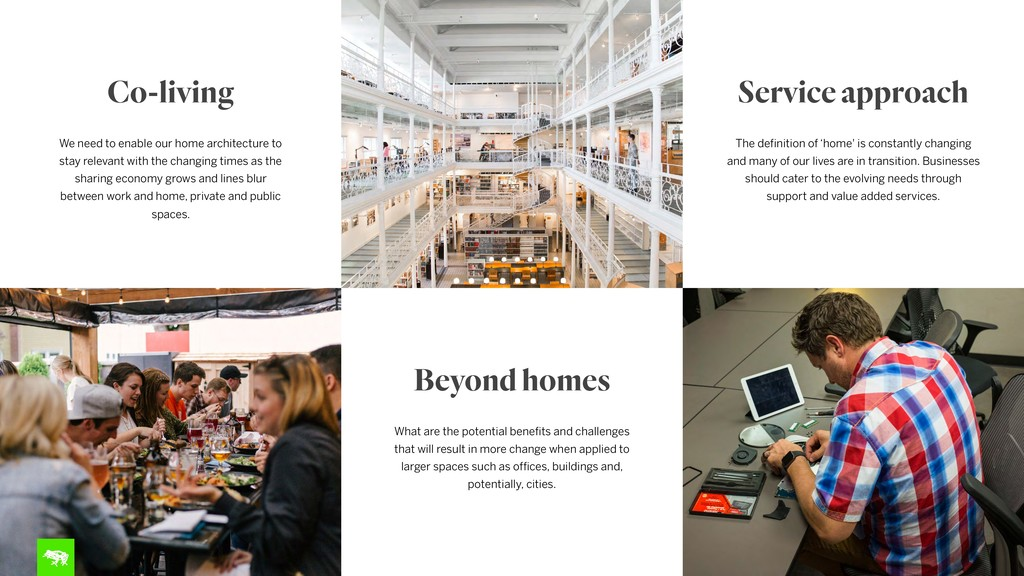 Co-living We need to enable our home architectu...