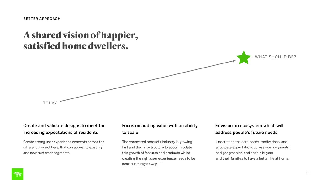 46 BETTER APPROACH A shared vision of happier, ...