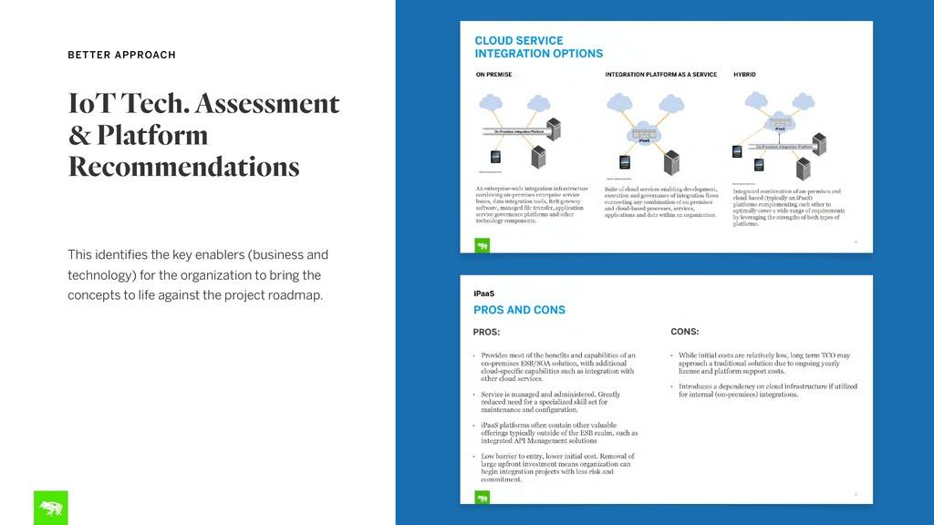 IoT Tech. Assessment  & Platform Recommendatio...