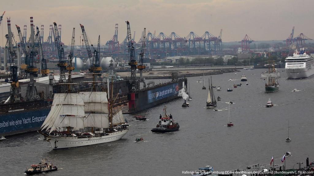 @hofstef Hafengeburtstag Hamburg CC-by Wir.dien...