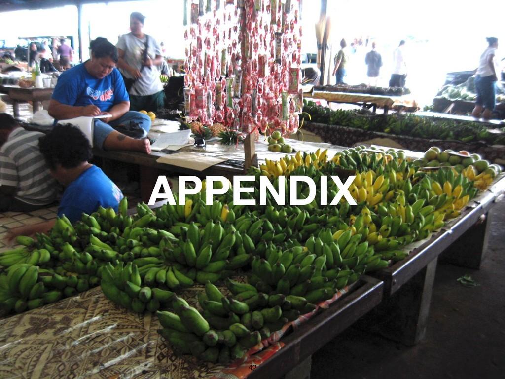 !42 APPENDIX