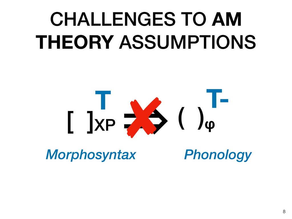 CHALLENGES TO AM THEORY ASSUMPTIONS !8 [ ]XP T ...