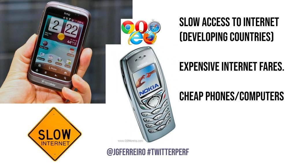 @JGFERREIRO @JGFERREIRO #TwitterPerf SLOW acces...