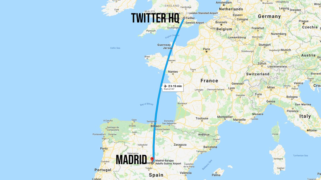 Madrid Twitter HQ