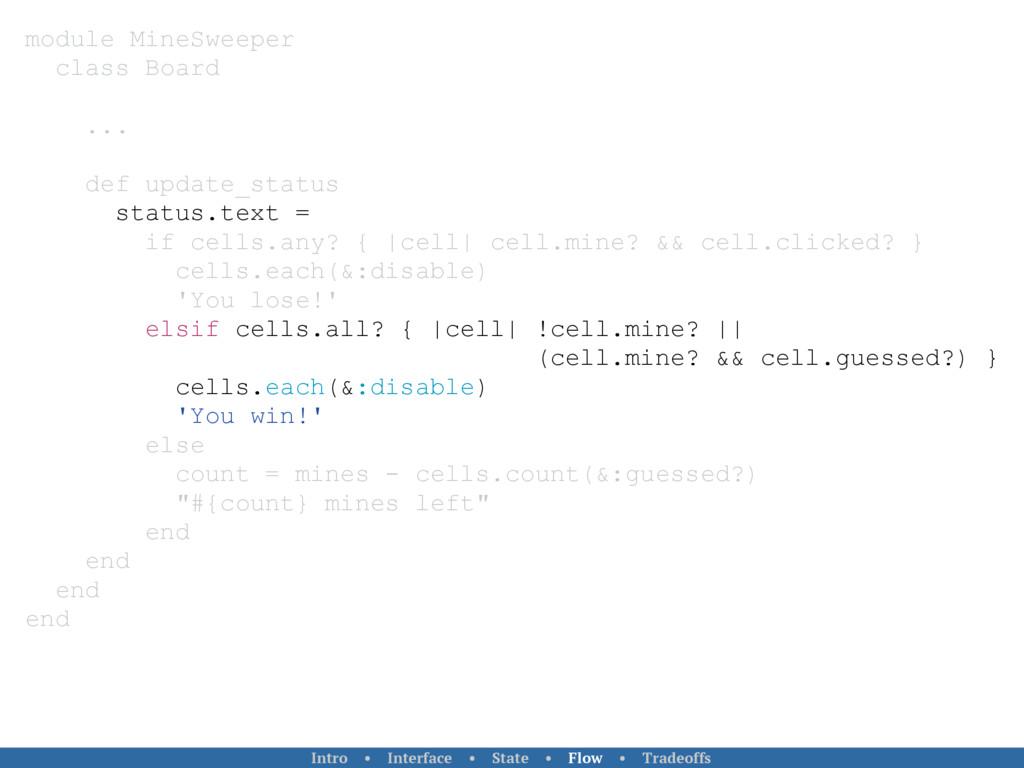 module MineSweeper class Board ... def update_s...