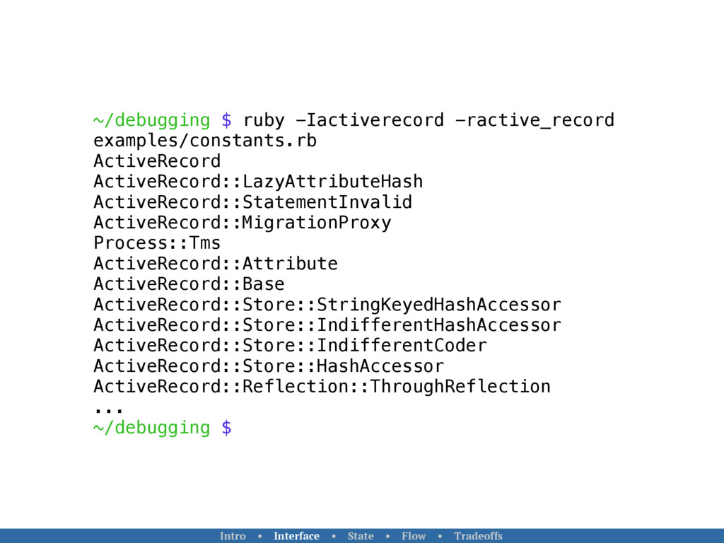 ~/debugging $ ruby -Iactiverecord -ractive_reco...