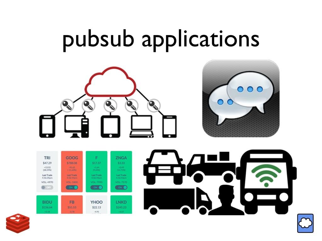 pubsub applications