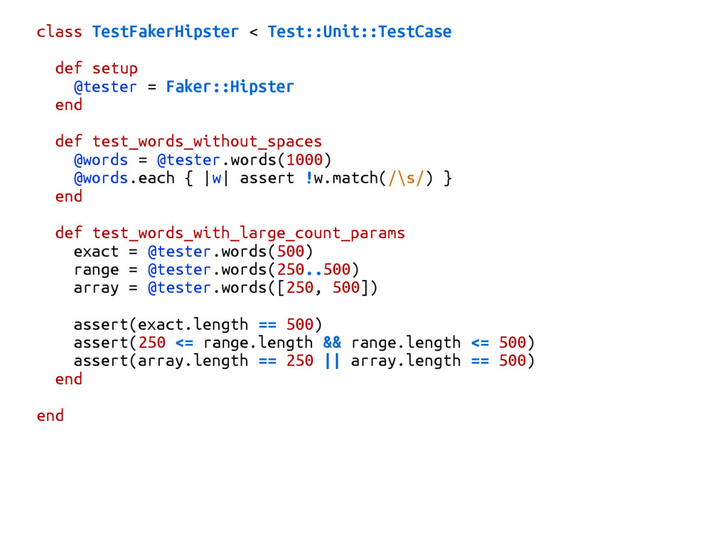class TestFakerHipster < Test::Unit::TestCase d...