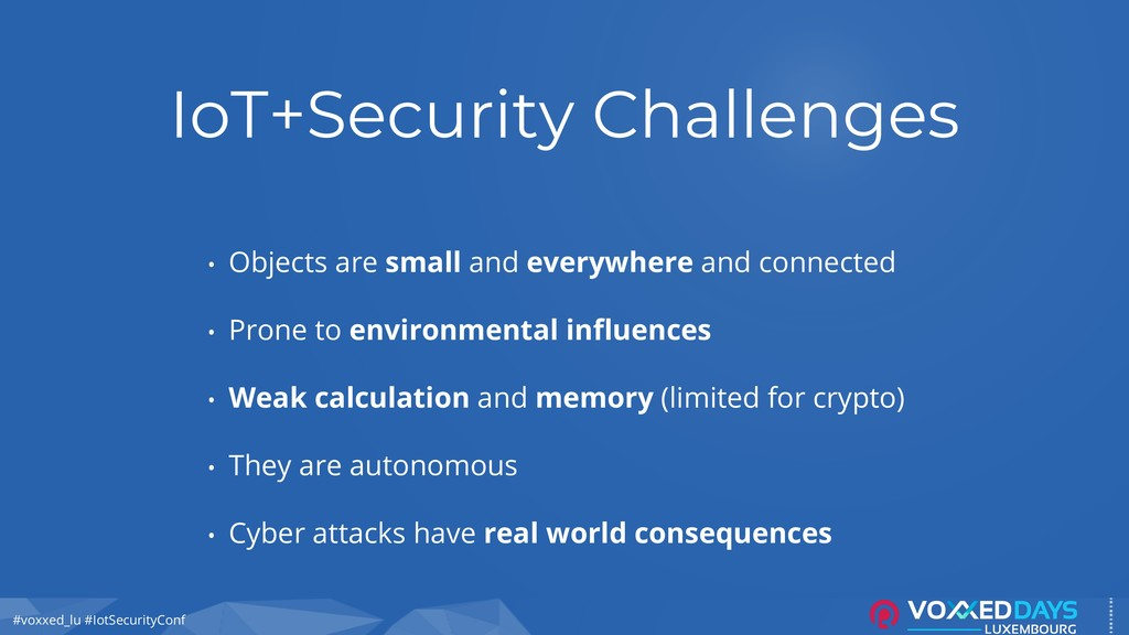 #voxxed_lu #IotSecurityConf IoT+Security Challe...